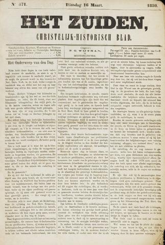 Het Zuiden, Christelijk-historisch blad 1880-03-16