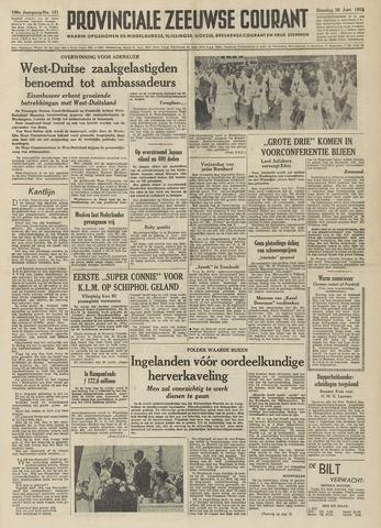 Provinciale Zeeuwse Courant 1953-06-30