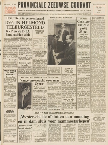 Provinciale Zeeuwse Courant 1967-12-02