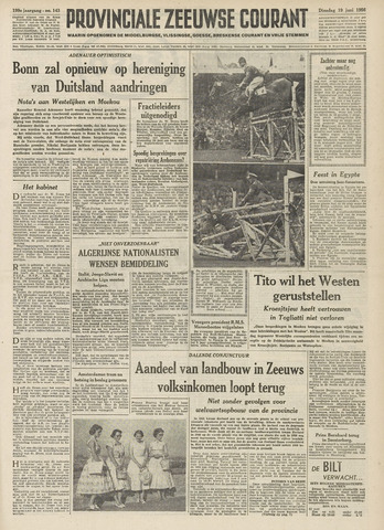 Provinciale Zeeuwse Courant 1956-06-19