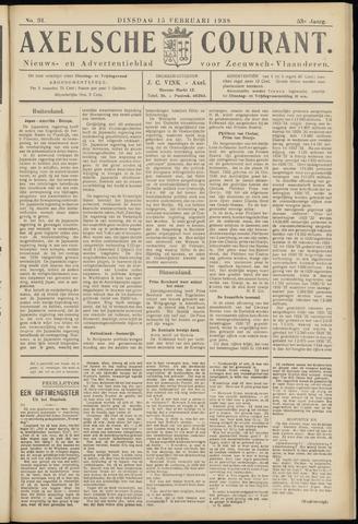 Axelsche Courant 1938-02-15