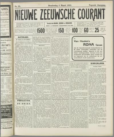 Nieuwe Zeeuwsche Courant 1913-03-06