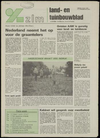 Zeeuwsch landbouwblad ... ZLM land- en tuinbouwblad 1991-07-19