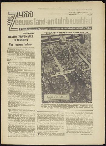 Zeeuwsch landbouwblad ... ZLM land- en tuinbouwblad 1964-01-24
