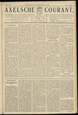 Axelsche Courant 1934-08-24