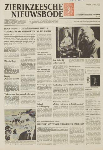 Zierikzeesche Nieuwsbode 1973-04-09