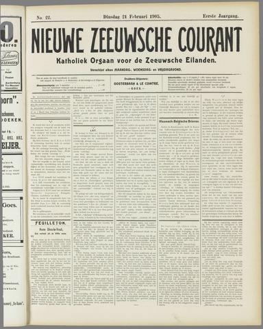Nieuwe Zeeuwsche Courant 1905-02-21