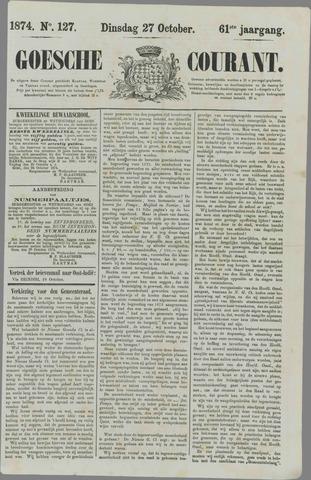 Goessche Courant 1874-10-27
