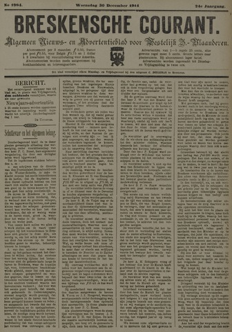 Breskensche Courant 1914-12-30