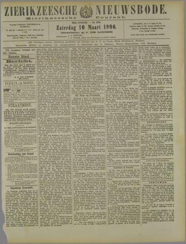 Zierikzeesche Nieuwsbode 1906-03-10