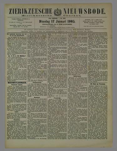Zierikzeesche Nieuwsbode 1905-01-17