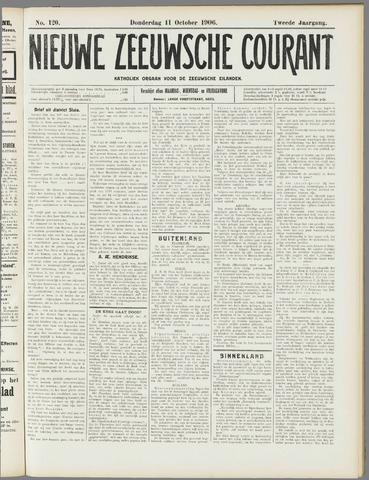 Nieuwe Zeeuwsche Courant 1906-10-11