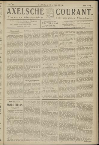 Axelsche Courant 1924-07-15
