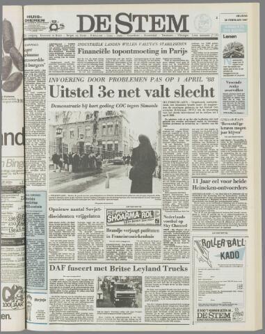 de Stem 1987-02-20