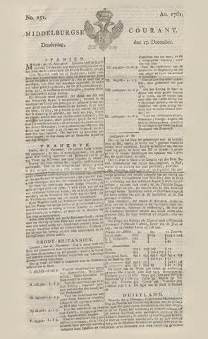 Middelburgsche Courant 1761-12-17