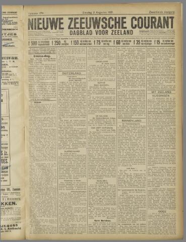 Nieuwe Zeeuwsche Courant 1921-08-02