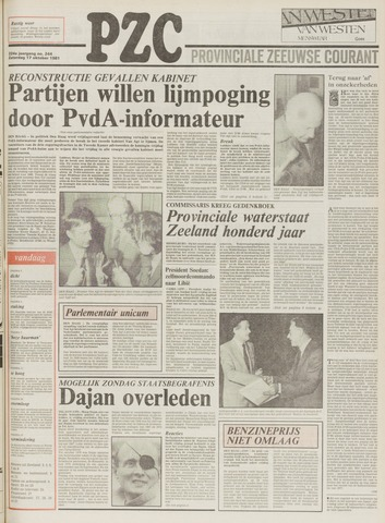 Provinciale Zeeuwse Courant 1981-10-17