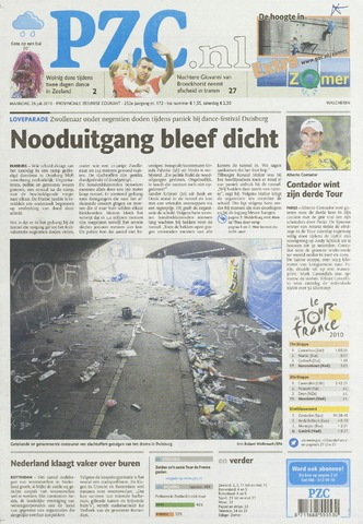 Provinciale Zeeuwse Courant 2010-07-26
