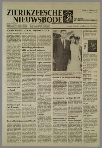 Zierikzeesche Nieuwsbode 1963-08-16