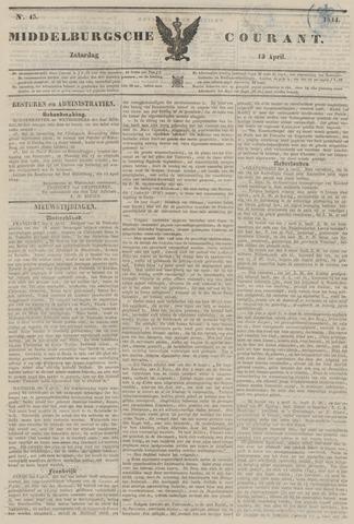 Middelburgsche Courant 1844-04-11