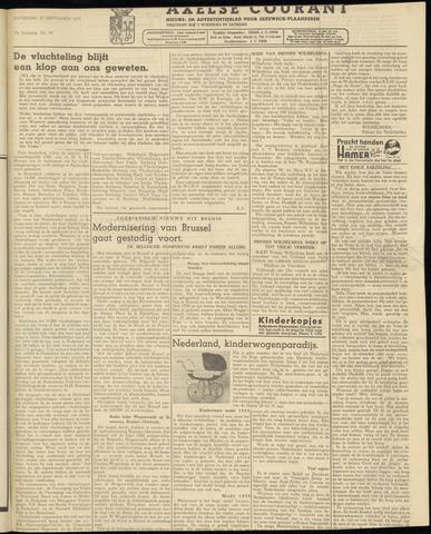 Axelsche Courant 1958-09-27