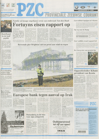 Provinciale Zeeuwse Courant 2002-12-30