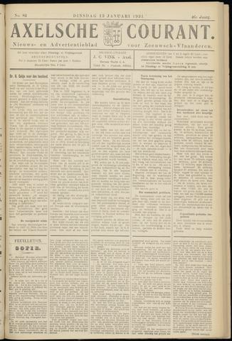 Axelsche Courant 1931-01-13