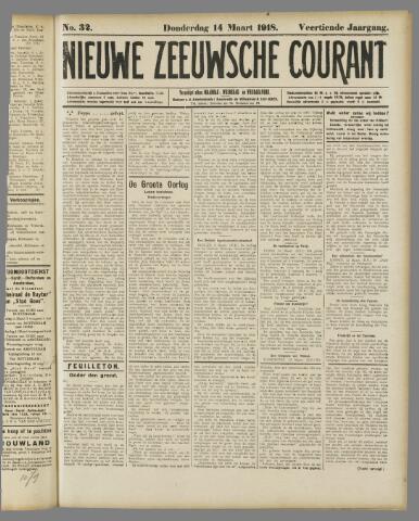 Nieuwe Zeeuwsche Courant 1918-03-14