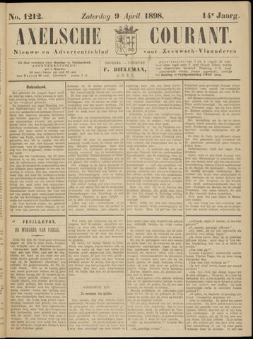 Axelsche Courant 1898-04-09