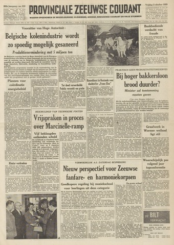 Provinciale Zeeuwse Courant 1959-10-02