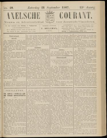 Axelsche Courant 1907-09-21