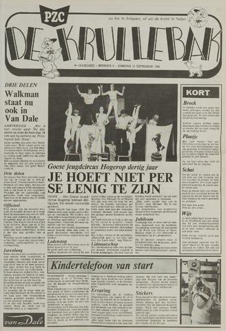 Provinciale Zeeuwse Courant katern Krullenbak (1981-1999) 1984-09-11