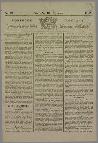 Goessche Courant 1845-08-25