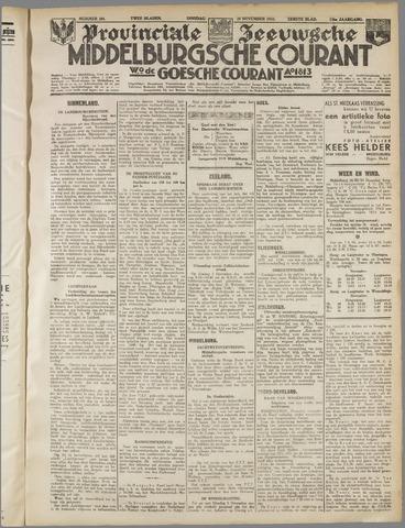 Middelburgsche Courant 1933-11-28