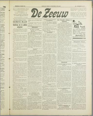 De Zeeuw. Christelijk-historisch nieuwsblad voor Zeeland 1937-05-19