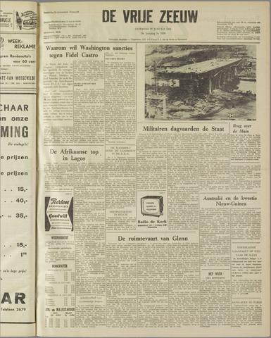 de Vrije Zeeuw 1962-01-27