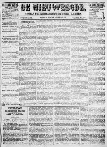 Sheboygan Nieuwsbode 1857-02-03