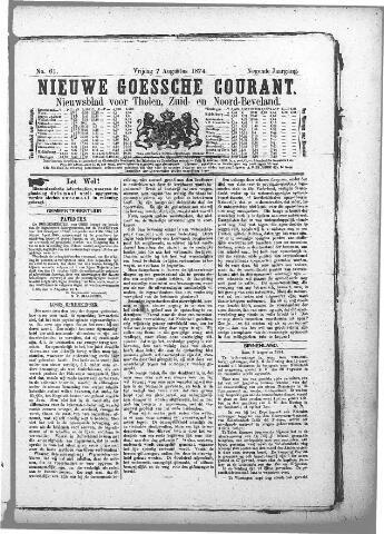 Nieuwe Goessche Courant 1874-08-07