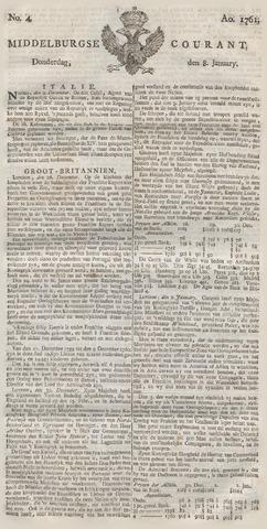 Middelburgsche Courant 1761-01-08