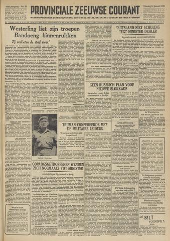 Provinciale Zeeuwse Courant 1950-01-24