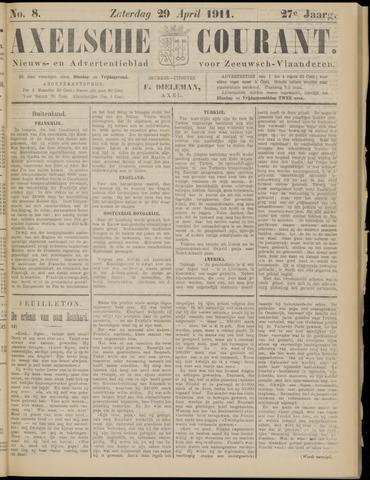 Axelsche Courant 1911-04-29