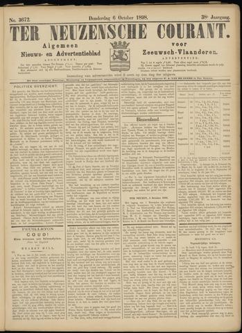Ter Neuzensche Courant. Algemeen Nieuws- en Advertentieblad voor Zeeuwsch-Vlaanderen / Neuzensche Courant ... (idem) / (Algemeen) nieuws en advertentieblad voor Zeeuwsch-Vlaanderen 1898-10-06