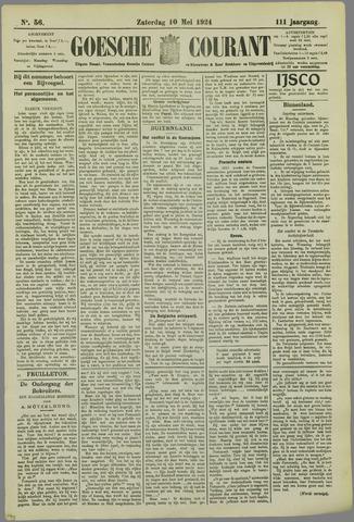 Goessche Courant 1924-05-10