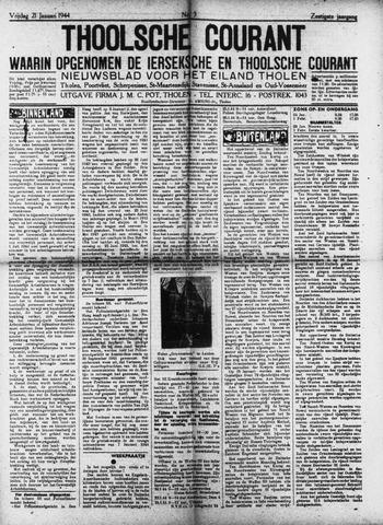 Ierseksche en Thoolsche Courant 1944-01-21