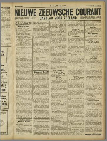 Nieuwe Zeeuwsche Courant 1921-03-22