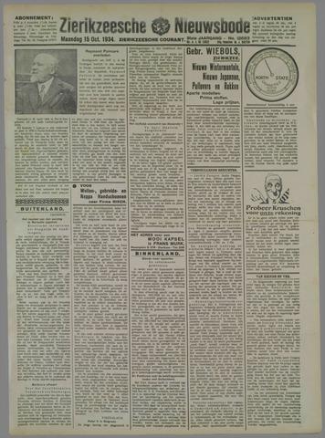 Zierikzeesche Nieuwsbode 1934-10-15