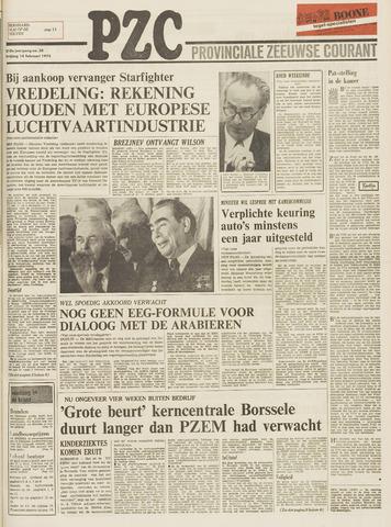 Provinciale Zeeuwse Courant 1975-02-14
