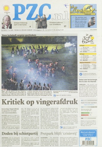 Provinciale Zeeuwse Courant 2009-07-13