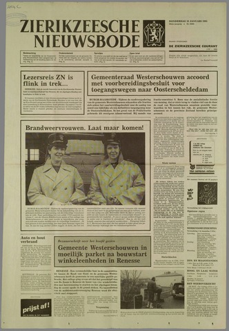 Zierikzeesche Nieuwsbode 1985-01-31