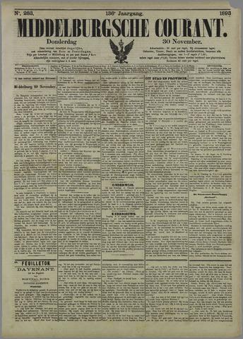 Middelburgsche Courant 1893-11-30